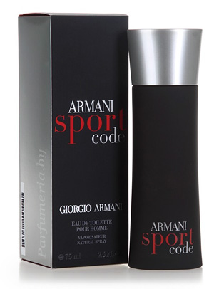 Туалетная вода Armani Code Sport