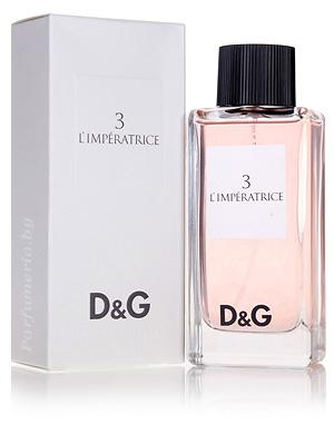 Туалетная вода D&G 3 L`Imperatrice