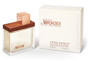 She Wood Velvet Forest Wood